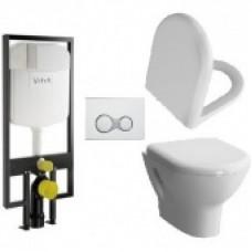 Комплект унитаз Vitra Zentrum + инсталяция + микролифт 9012B003-7206