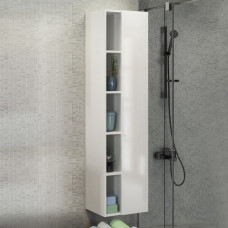 COMFORTY Шкаф-колонна Милан-40 белая