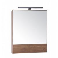 Зеркальный шкаф АСБ-Мебель Анкона 60 дуб