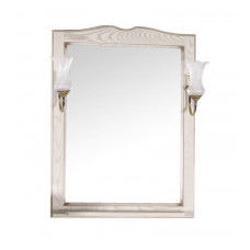 Зеркало ASB-Woodline Верона 65 бежевый