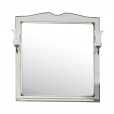 Зеркало ASB-Woodline Верона 75 бежевый