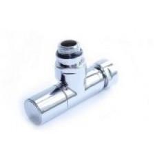 Вентиль запорный угловой г/ш 3/4х1/2 хром 4701