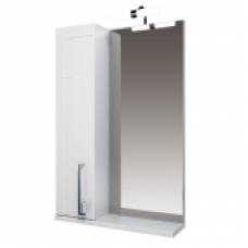Triton Зеркало Диана-70 левый с подсветкой и шкафом