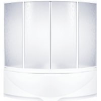 Шторка на ванну BAS угловая 150x150