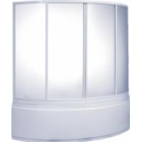 Шторка на ванну пластик BAS Алегра 150x90