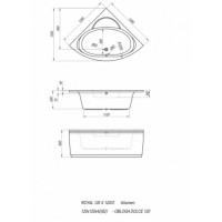 Ванна акриловая Kolpa-san ROYAL 140х140