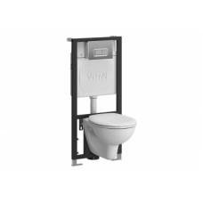 Инсталяция+унитаз+кнопка Vitra Normus 9005B003-7210