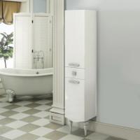 COMFORTY Шкаф-колонна Монако-40 правая белый