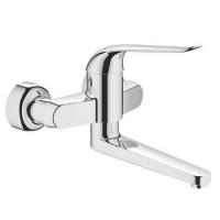 См-ль д/ванны GROHE EUROECO Special 32773000 излив 257мм, ручка