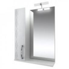 Triton Зеркало Кристи-65 ,бел.с подсв.,шкаф слева