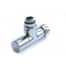 Вентиль запорный угловой г/ш 3/4х1/2 хром 4703