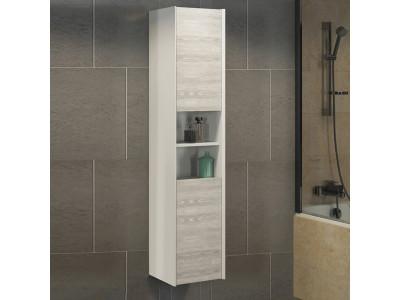 COMFORTY шкаф-колонна Женева-35 дуб белый