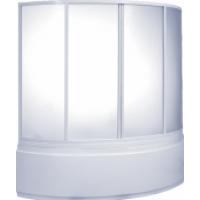 Шторка на ванну BAS Сагра стекло 160x100