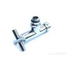 Вентиль запорный угловой г/ш 3/4х1/2 хром 4704