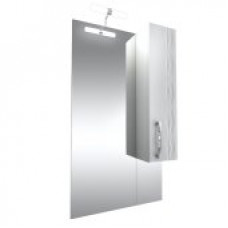 Triton Зеркало Кристи-70 ,бел.с подсв.,шкаф справа, удлененное