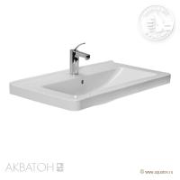 Раковина Cubito 85x48, 1 отв д/смес це Акватон (Aquaton 8104260001041)