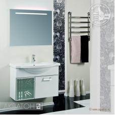 Полка стеклянная 85 Акватон (Aquaton 1A110303XX010)