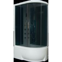 Душевая кабина BAS FIJI 120х80 левая графит