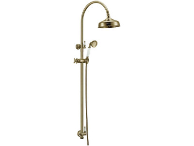Стойка с верхним душем Boheme (25 см) Medici 401