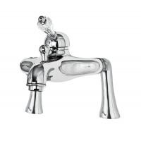 Смеситель на борт ванной в комплекте с ручным душем VINTAGE-PBVM-Sw Cezares (VINTAGE-PBVM-01-Sw-N)