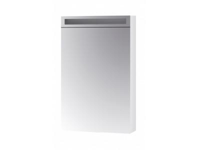 MAX 50-зеркальный шкаф с LED-освещением,Л/П,белый