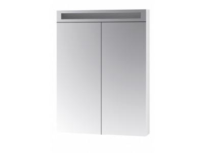 MAX 60-зеркальный шкаф с LED-освещением, 2Д,белый
