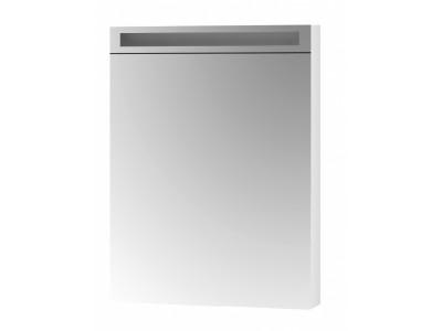 AIR 60-зеркальный шкаф с LED-освещением и розеткой , Л/П, белый