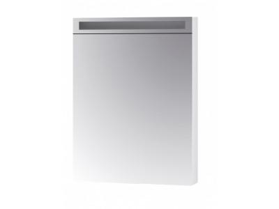 MAX 60-зеркальный шкаф с LED-освещением, Л/П,белый
