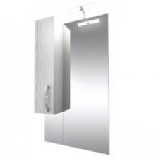 Triton Зеркало Кристи-70 ,бел.с подсв.,шкаф слева, удлененное