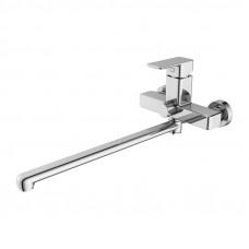 BRISBL2i10 Смеситель для ванны с длинным изливом с керамическим дивертором Brick Iddis