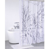 SCID170P Штора для ванной комнаты Iddis