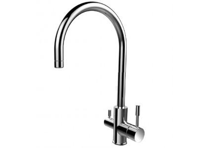 KF10STJi05 Смеситель для кухни из нержавеющей стали с каналом для фильтрованной воды Kitchen F