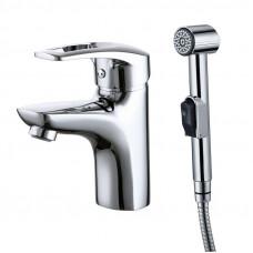 CRPSB00i08 Смеситель для умывальника с гигиеническим душем Carlow Plus Iddis