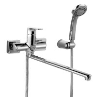 HARSBL2i10 Смеситель для ванны с длинным изливом Harizma Iddis