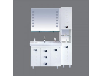 Мебель для ванной Misty Эллада -100 Зеркало-шкаф П-Элл04100