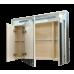 Мебель для ванной Misty Джулия - 85 Шкаф бежевый Beidge зеркальный Л-Джу04085-5310