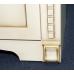 Мебель для ванной Misty Афина -100 Тумба прямая бежевая патина/столешница Л-Афи01100-033Пр