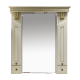 Misty Афина -100 Зеркало-шкаф бежевое патина Л-Афи04100-033