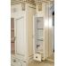 Мебель для ванной Misty Афина -100 Зеркало-шкаф бежевое патина Л-Афи04100-033
