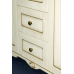 Мебель для ванной Misty Афина -120 Тумба с 3 ящ. бежевая патина/столешница Л-Афи01120-0333Я