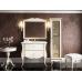 Мебель для ванной Misty Анжелика - 100 Тумба белая сусальное золото с 2 ящ./столешница Л-Анж01100-3912Я