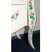 Мебель для ванной Misty Анжелика - 100 Тумба бежевая с узором с 2 ящ./столешница Л-Анж01100-5412Я