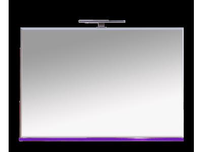 Мебель для ванной Misty Атланта 107 зеркало сиреневое Л-Атл03107-15Св