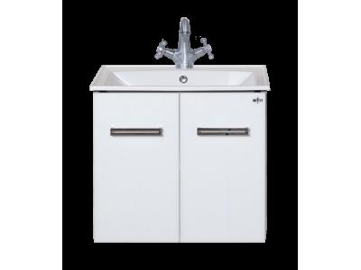 Мебель для ванной Misty Атланта 60 тумба белый жасмин Л-Атл01060-01ПрПо