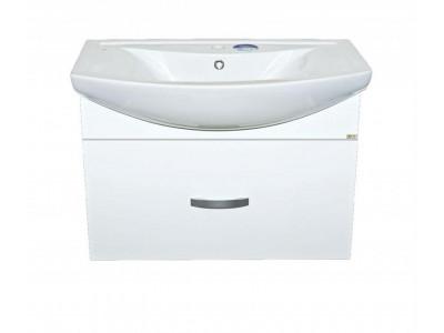 Мебель для ванной Misty Балтика - 80 Тумба с 1 ящ. подвесная Э-Бал01080-011П1Я