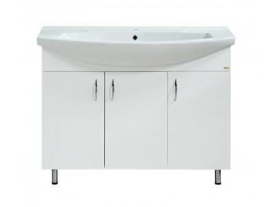Мебель для ванной Misty Балтика-105 Тумба прямая Э-Бал01105-011Пр