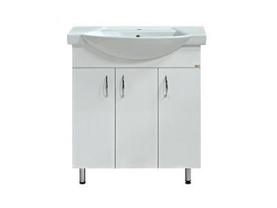 Мебель для ванной Misty Балтика - 75 Тумба прямая Э-Бал01075-011Пр