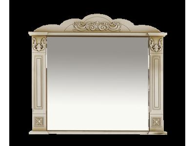 Мебель для ванной Misty Барокко 100 Зеркало бежевое патина Л-Бар02100-033