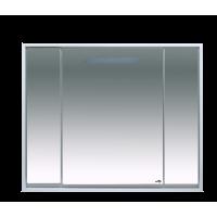 Зеркальный шкаф Misty Барселона -105 Зеркало-шкаф со светом П-Брс02105