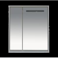 Зеркальный шкаф Misty Барселона - 75 Зеркало-шкаф со светом П-Брс02075